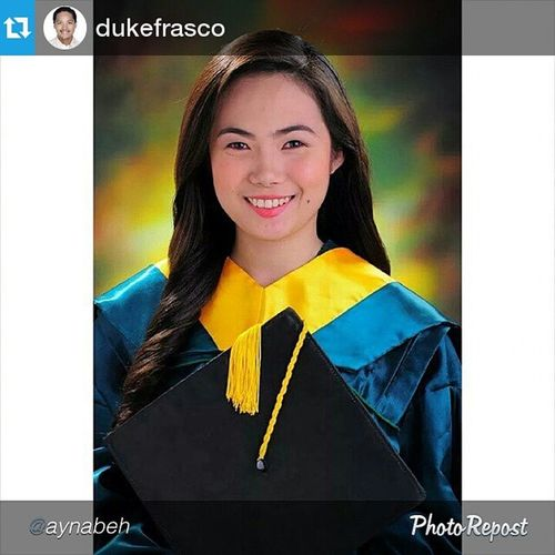 "Repost @dukefrasco ・・・ Repost from @aynabeh ""A new day. A new life. A new day to thank God for all the blessings He has given me. A new day to thank each and every person behind this success.Now, let me take this opportunity to thank a very special person who has also played a very important role throughout my college degree. To our very gwapo plus very humble Mayor Duke Frasco, DAGHAN KAAYONG SALAMAT! I promised to Mama and Papa nga someday, mabayaran ragud nako ang opportunity nga gihatag ninyo nako, and this is it..to graduate with flying colors 😊 I really idolize you since then. The way you talk in front of the huge Liloanon crowd, very down to earth 👍 Makabilib, because a very young man took the challenge nga mudala sa isa ka dako nga Municipality. Wooow just woow! If only pwede ikaw nalang ang Mayor forever! 😂😂😂 Words will never be enough to express how greatful I am gud. Again, thank you so much Mayor sa support nga gihatag nimo nako and also to my brother, Paul. Congratulations Mayor! Nakapagraduate kag estudyante nga parehas nako. MA. CHRISTINA CANETE DESIDERIO, a proud Duke's scholar 👊 Education will always be number 1 in Liloan 😄😄 Live.Love.Liloan"" Liloan Cebu LiveLoveLiloan GihigugmaKoLiloan ❤️"