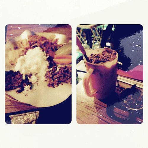 Late Dinner Sundanese Food Milo