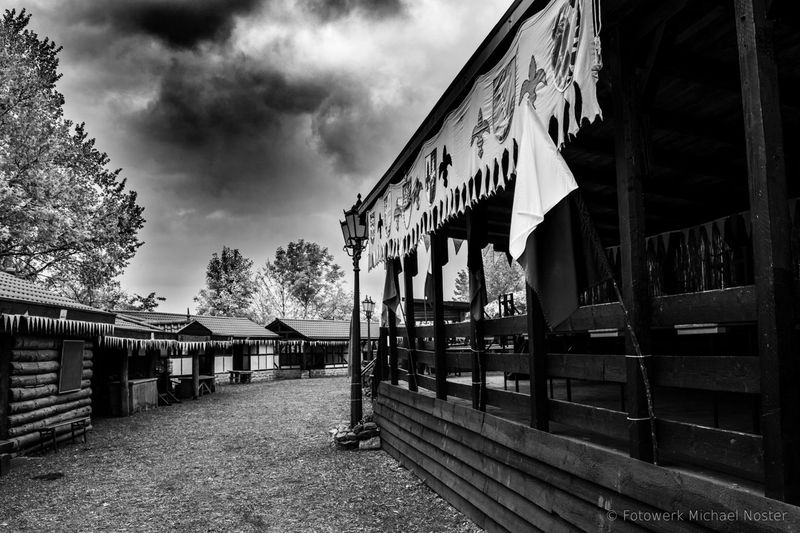 Cloud - Sky Built Structure No People Midage Outdoors Black And White
