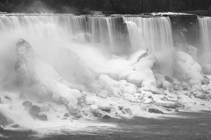 Water Power In Nature Waterfall Motion Beauty Long Exposure Rapid Flowing Water Falling Water Stream - Flowing Water Running Water
