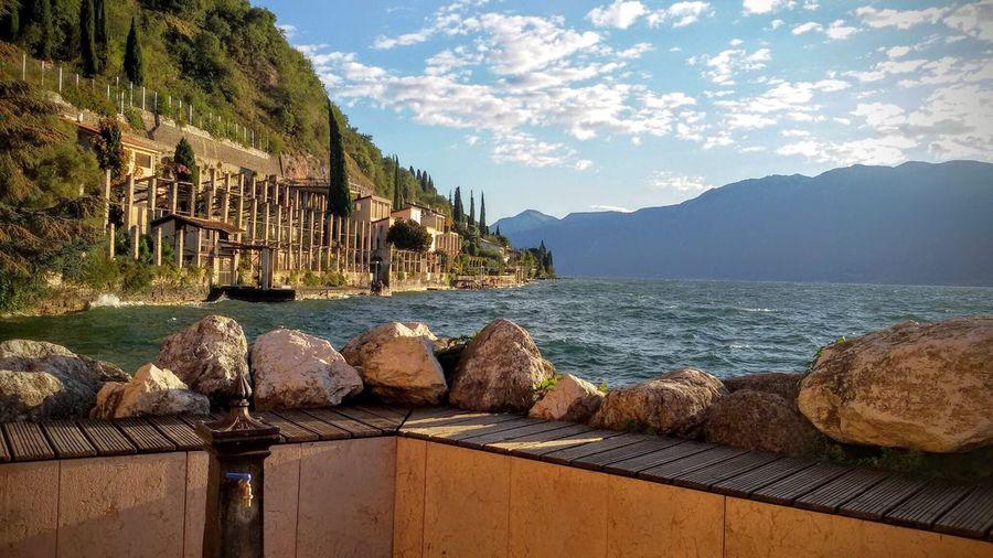 Lago Lago Di Garda Landscape Gardasee Garda Lake Water