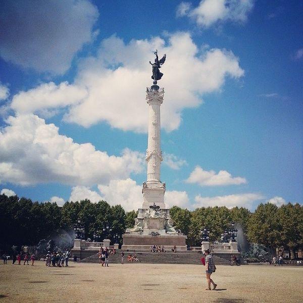 Le Monument des Girondins Bordeaux Fontaine