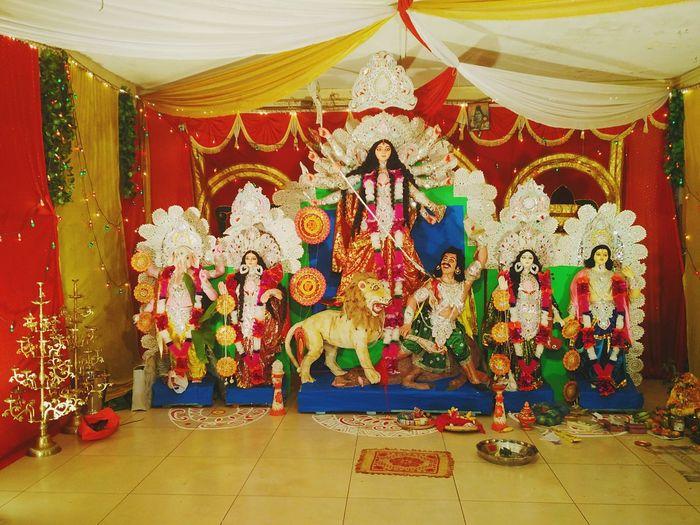 Durga Puja. Statue Maa Durga Durga Durga Puja 2016 Durgapuja Durga Pujo Durga Puja Durgapuja2016 DurgaPooja Durgapujo Incredible India Culture Tradition No People Idols God Hinduism Bengali Bengali Culture Festival Dusshera Navratri Bangla Culture And Tradition Worship