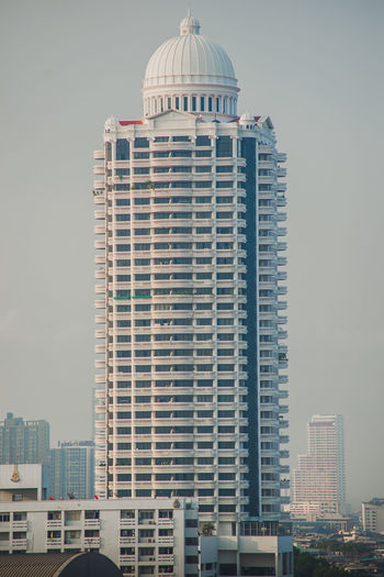 View of buildings in city