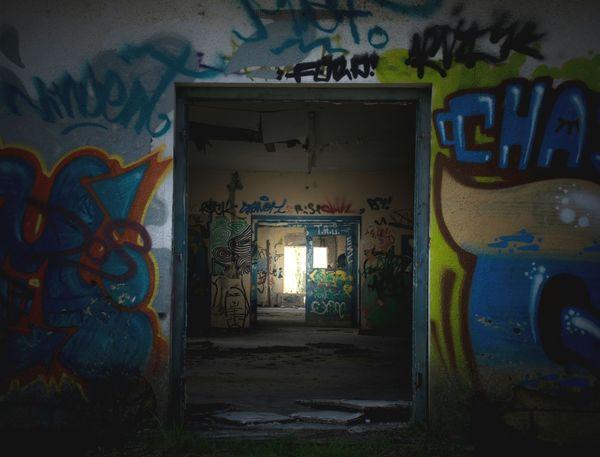Urban exploring in Germany Abondoned Abondoned Places Abonded Abonded Places Graffiti Graffiti Art Art Shadow Light And Shadow Darkness Creepy Nikon Nikonphotography Popular Spooky Colours Germany Camphitfeld Hitfeld