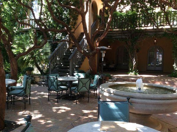 California Chair Day Fontains Mexican Garden No People Outdoors Tree USA Photos