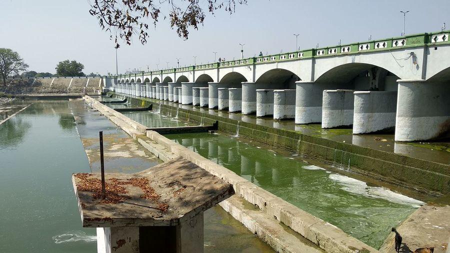 grand anicut dam Bridge - Man Made Structure Chola Architect Dam Water Dam Built Structure River Dam