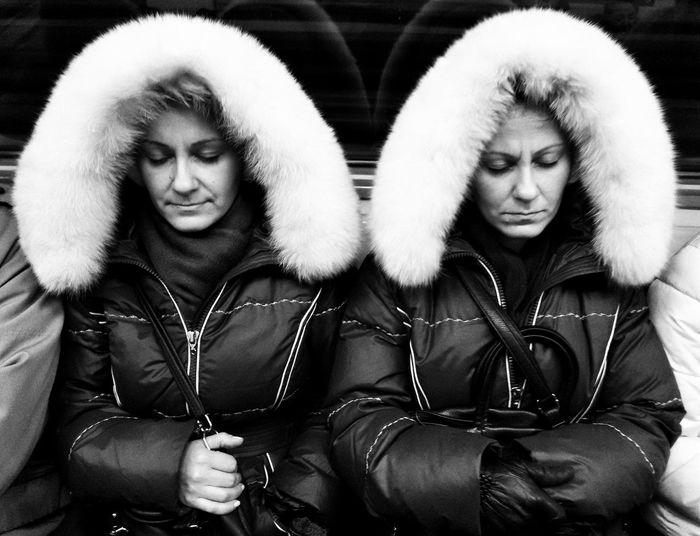 The Street Photographer - 2017 EyeEm Awards Two People Street Russia Streetphoto Streetphotography Steet Life Street Photography Blackandwhite Streetphotography_bw Streetphoto_bw Underground