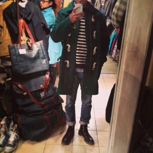古着屋で一目惚れしたダッフルコート‼︎ #お気に入り #休日コーデ #ファッション #俺 #wtywt #ootd #fashion #fav #me Me Fashion Japan Fav Ootd WDYWT お気に入り ファッション 休日コーデ Wtywt 俺