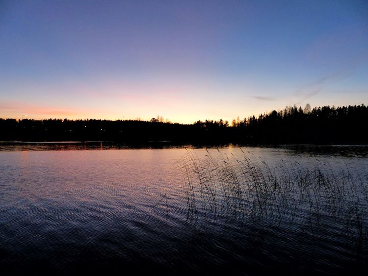 Breathe and dream. Capture the moment. Sunset Colorful Sky Visitfinland Sunset Photography Lake Nature Scenics Beauty In Nature Sky