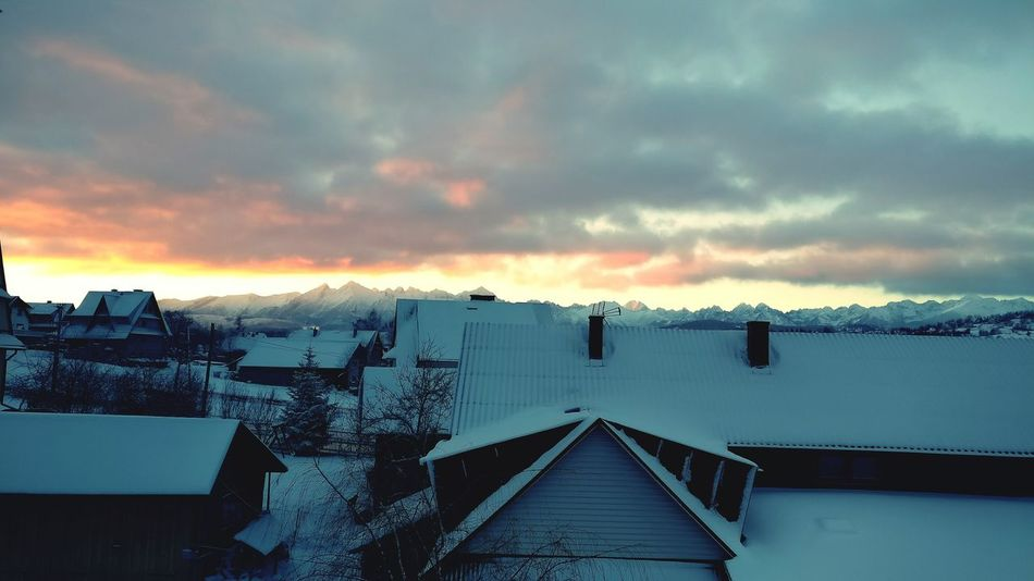 Morning Sky MorningSunshine Tatra Mountains Morningslikethese Sunrise Zakopane Poland