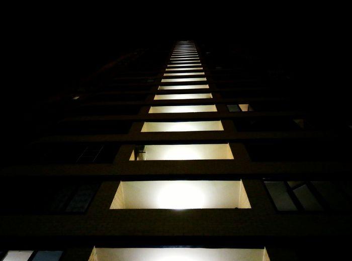 Urban Geometry Streetphotography Lookingup Night Lights Nightphotography Reutov Moscow Flashnight