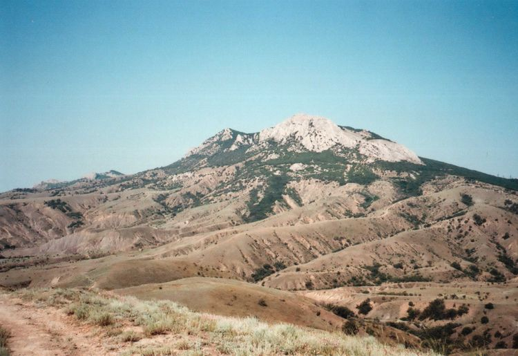 35mm Authentic Clear Sky Film Geology Hill Idyllic Landscape Mju2 Mjuii Mountain Mountains National Park Nationalpark Nature No People Olympus Outdoors Rock Formation Summer Wildness