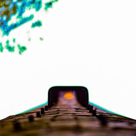 EyeEmNewHere Architecture Bridge - Man Made Structure No People Built Structure City Outdoors Day Sky Chimney Smokestack Bokeh Bokeh Photography Bokeheffect Dof Depth Of Field Depthoffield Kentucky  Ladder Urbex Urbexphotography Explore Cloudless Brick Bricks