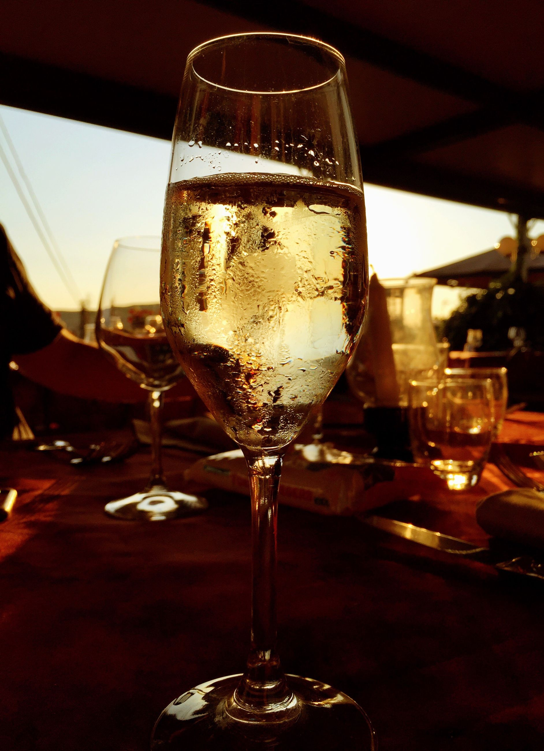 table, wineglass, refreshment, still life, wine, close-up, alcohol, freshness, focus on foreground, no people, indulgence, serving size, empty