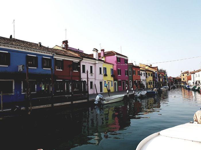 Burano, Italia Burano, Italy Water Travel Travel Destinations Vacations No People Architecture Building Exterior Architecture Nature Gondola - Traditional Boat