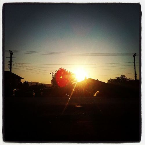 Ankara'da gün batımı !!