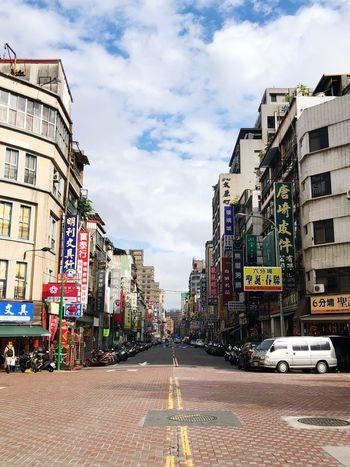 Old street taipei Taipei Old Street SoloTraveller Solotravels Photographer Photography Photo Backpacking Backpacker Solotraveler Solotravel Solo Streetphotography Street Street Day Outdoors No People Cloud - Sky