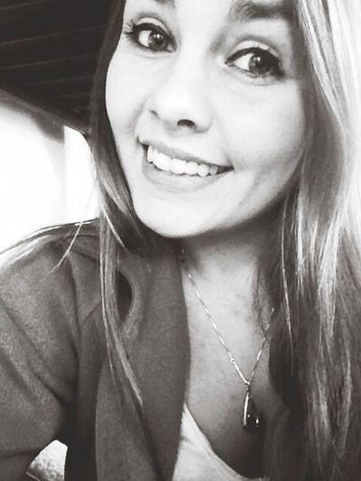 That's Me Life Blackandwhite Smile