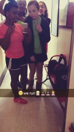After track💪😍💋