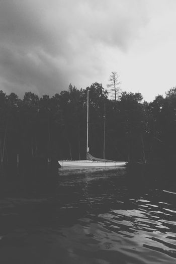 I'm leaving you well and whole. That's my parting gift to you. Peace. I don't leave you the way you're used to being left—feeling abandoned, bereft. So don't be upset. Don't be distraught // John 14:27 (msg) Water_collection Lake Blackandwhite