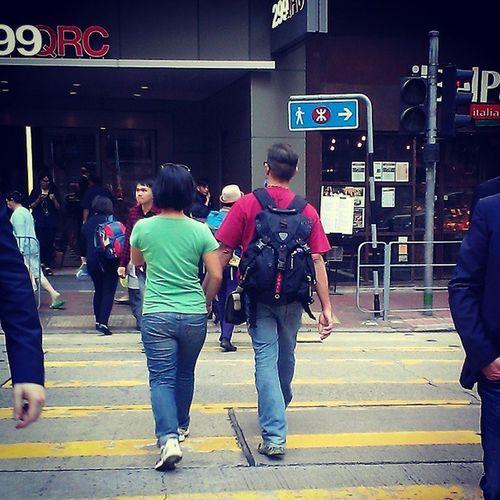 Hold my hand Vivadailychallenge Vivanesia Couple HongKong street hkig
