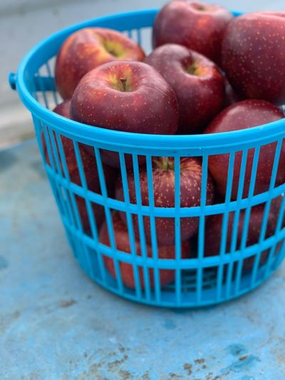 Apple EyeEm Selects Food And Drink Healthy Eating Container Freshness Basket Apple - Fruit Red No People