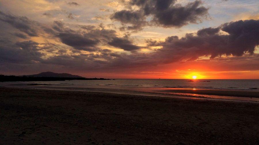 Beachy sunsets Sunset Beach Sun Evening First Eyeem Photo
