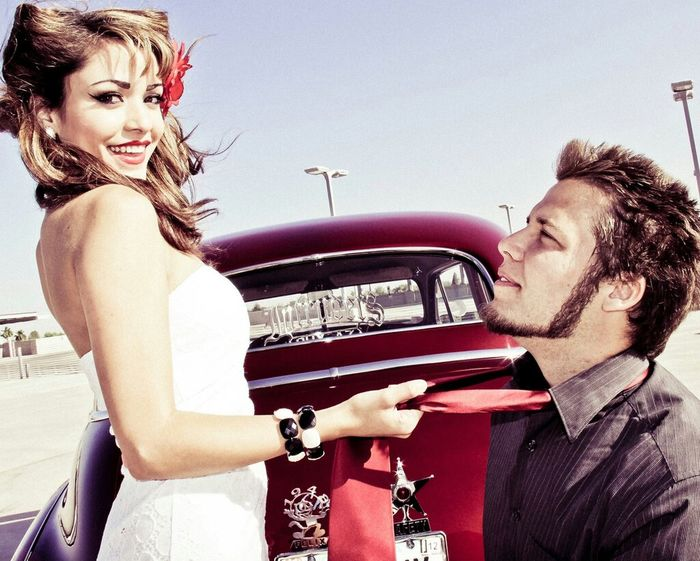 Model Classic Cars Pinup KOPhotography
