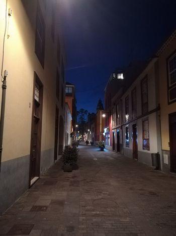 La Laguna Night Lights Nightphotography Architecture Building Exterior Illuminated Night Old Buildings