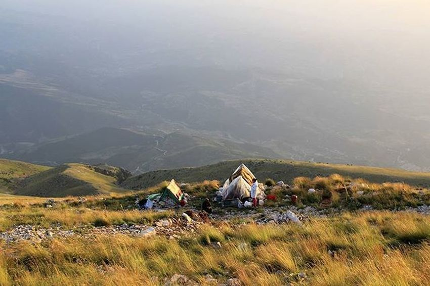 Malitomorrit Mountain Montagne Cielo Erba Sky Albania Shqiperia Instalbaniaofficial