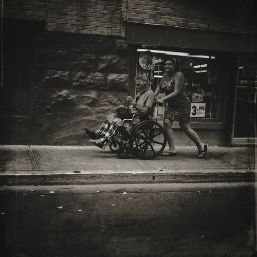 In the street of Montreal on the Plateau IPhoneography Mobileart NEM Submissions AMPt_community NEM Black&white
