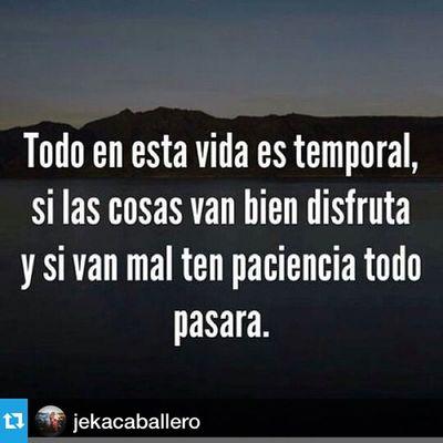 Repost from @jekacaballero with @repostapp --- Mensaje Réflexion Paciencia Fé
