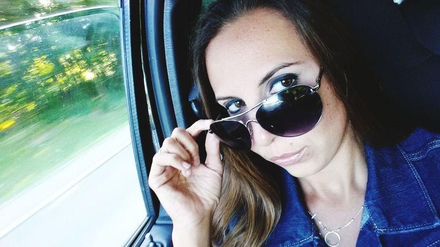 EyeEm Selects EyeEmNewHere Young Women Portrait Beautiful Woman Smiling Women Headshot Looking At Camera Close-up Sunglasses