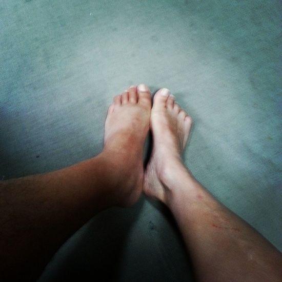 Solemates Soulmates Feet Malefoot female