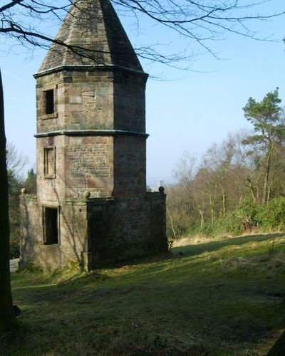 Folly Victorian Folly Victorian Nature Tree Landscape 2010 Rural Scene Lyme Park National Trust Outdoors The Lantern