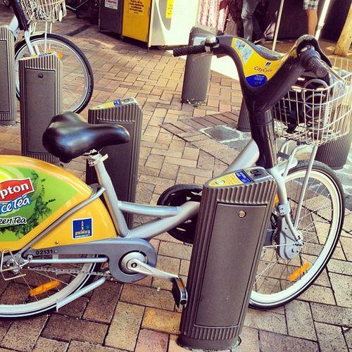 Bikes for hire, brilliant idea!