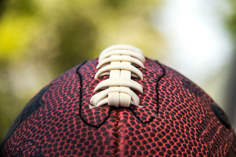American Football Football Ball Nature America American Sport American Football