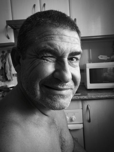 MyPhotography Blackandwhite Myphoto B&w Looking At Camera Dad Love Dad Serious Person Friend Moments  Black & White