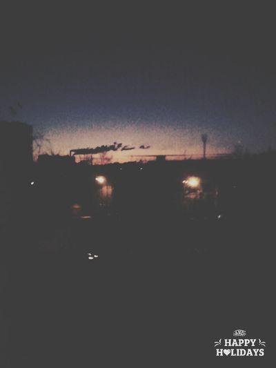 Утро рассвет