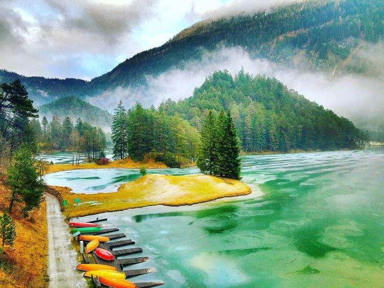 Alpenpanorama Österreich Taking Photos Photography Picoftheday Photooftheday Pictureoftheday Alpen Colorful Bergsee Boote