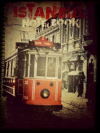 Notebook Istanbul Turkey Taksimtünel Taksimbeyoglu