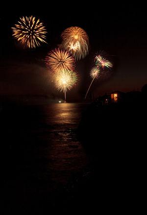 Laguna Beach, CA, USA - July 4, 2017: Fireworks explode over the ocean at dusk in Laguna Beach, California. America California Celebration Celebration Colorful Explosion Firework - Man Made Object Firework Display Forth Of July Illuminated Laguna Beach Long Exposure Motion Night No People Outdoors Sky United States USA