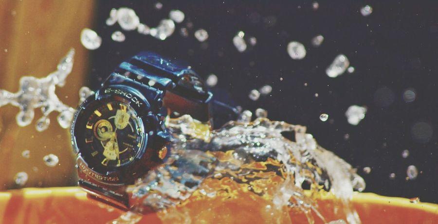 First Eyeem Photo Still Life Photography Water Water Drops Water Splash Water Splash! StillLife G Shock Splash Bucket Rain Strobist