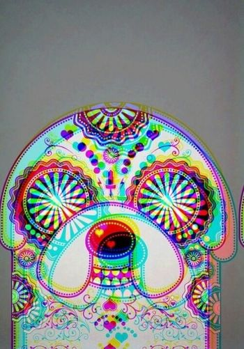 Psychedelic .adventure time. Jake. 3D, patterns