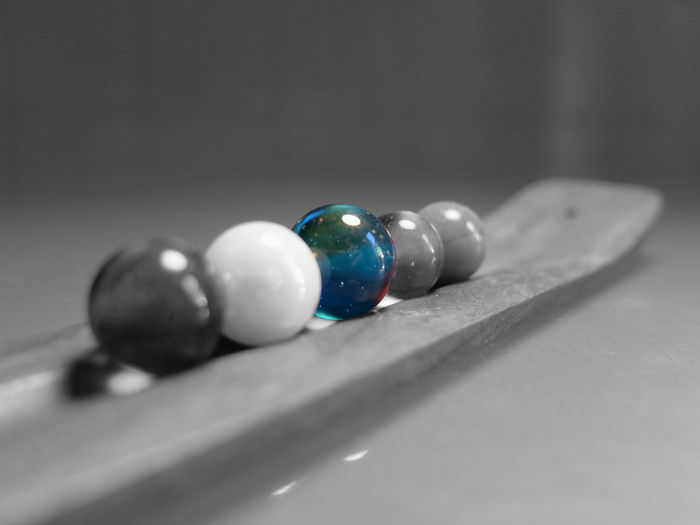 Blue Focus On Foreground Fujifilm Fujifilm_xseries Group Of Objects Large Group Of Objects Man Made Object Marble Medium Group Of Objects Multi Colored No People Selective Focus Variation Colour Of Life