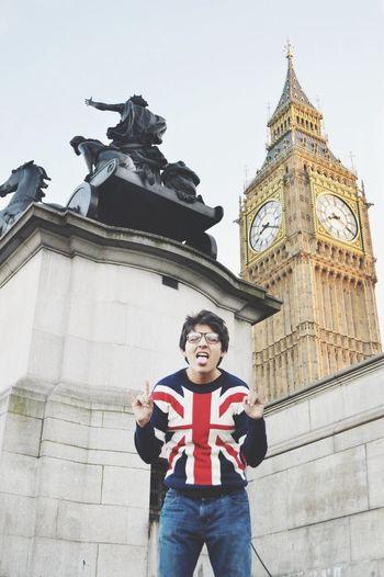 London Bigben England That's Me
