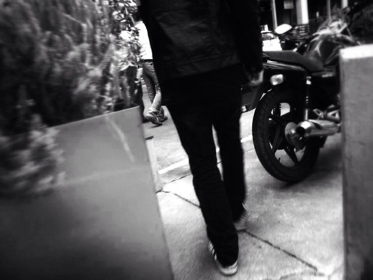 Motorcycles Walking Street Photography Hanging Out