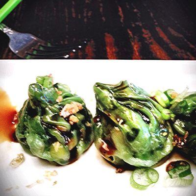 jae dumplings at client meeting in midtown today