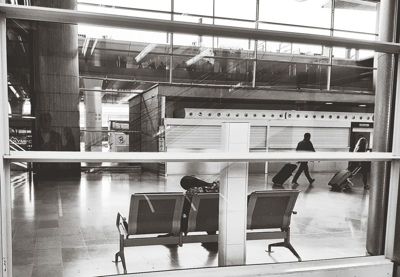 The Street Photographer - 2017 EyeEm Awards Indoors  Airport Departure Area People Contrasts Charles De Gaulle Fast And Slow Sleeping Rush Running Late